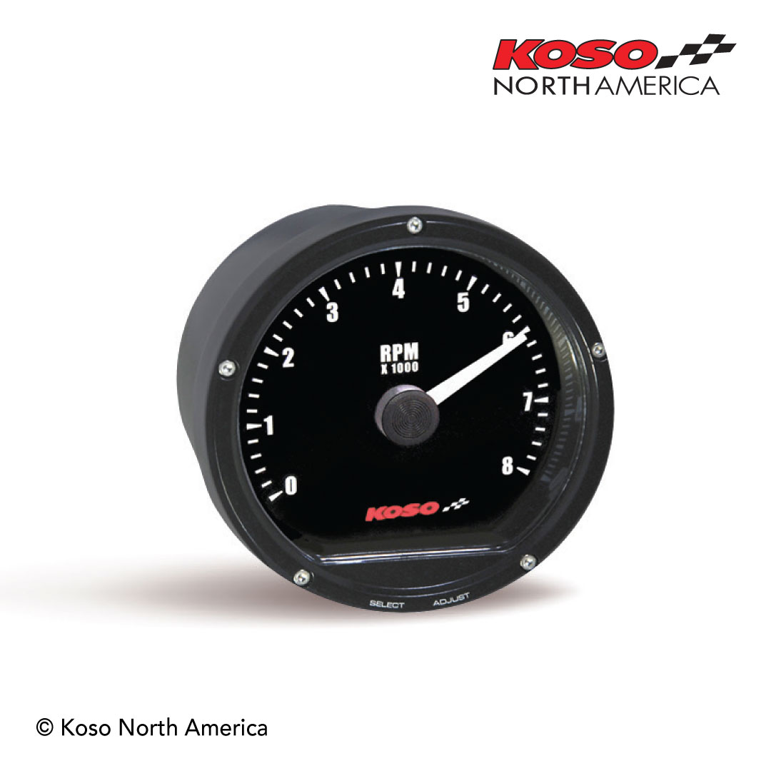 TNT-01R 8000RPM black meter