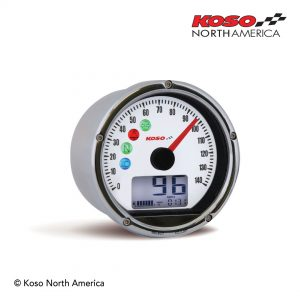 TNT-01S Speedometer HD - chrome-white
