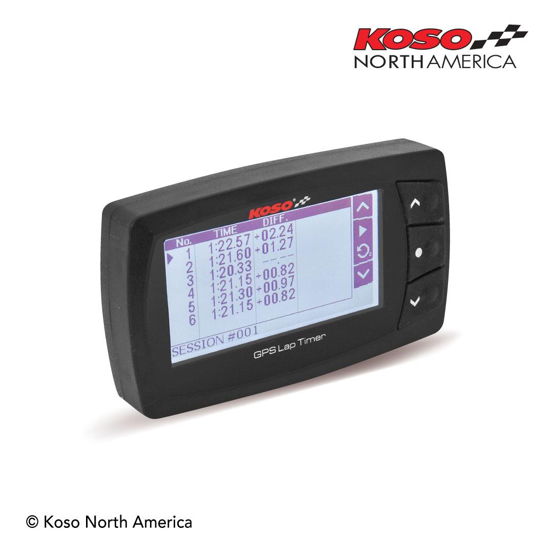 GPS laptimer laptime results