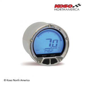 DL-02R tachometer chrome casing