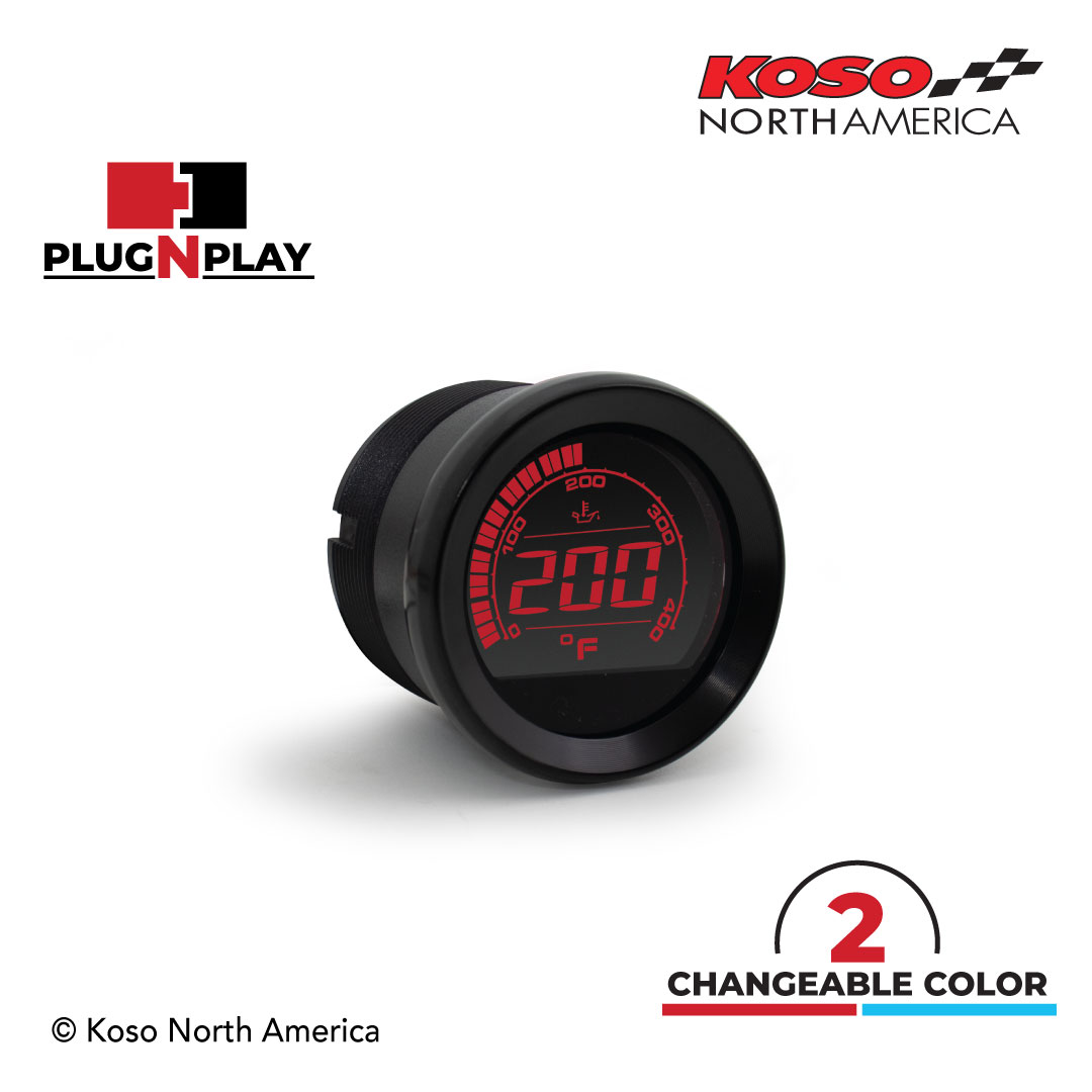 HD-02OT - black red digit